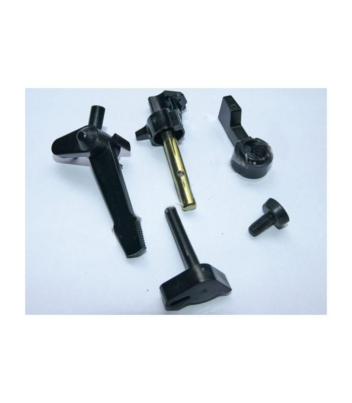 Комплект пластмассовых рычагов карбюратора 5шт (168F)