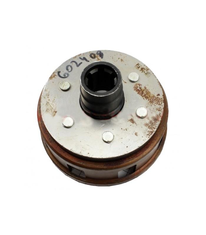 Корзина сцепления под шлицы пустая 25мм тип-2 (178F)