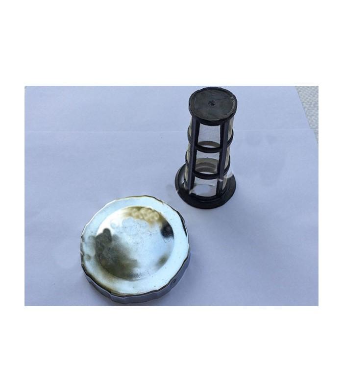 Крышка бака с сеткой под потайную горловину (R180)