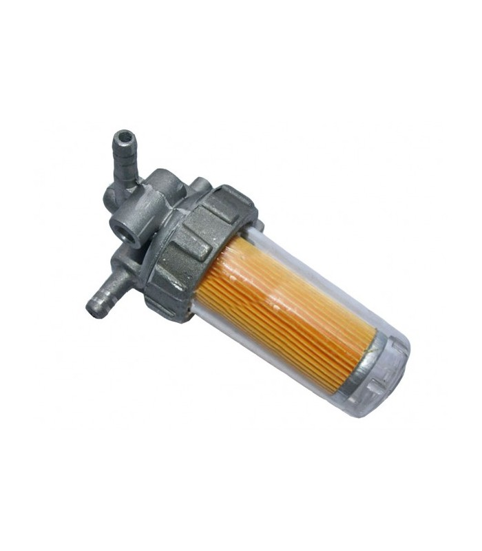 Топливный кран пластиковый стакан (R180)