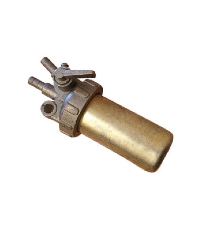 Топливный кран железный стакан (R195)