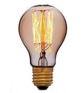 Works Лампа накаливания Эдисона EB40-E27-A60