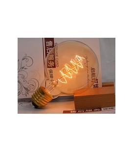 Works Лампа накаливания Эдисона EB40-E27-A60S (спираль)