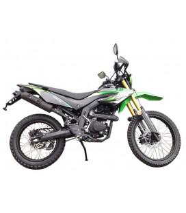 Мотоцикл FORTE FT250GY-CBA зелено-черный