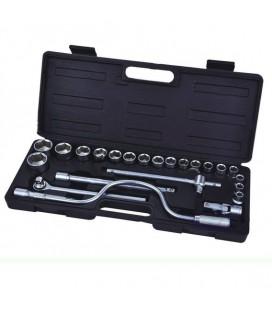 Набор ручных инструментов 24 шт Сталь 70022