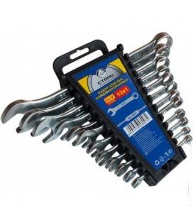 Набор комбинированных ключей CRV 12 шт Сталь 48007
