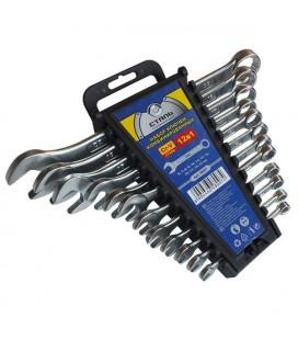 Набор комбинированных ключей CRV 15 шт Сталь 48008