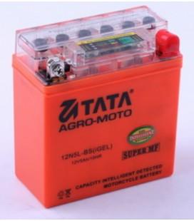 Аккумулятор 5Аh-YTX5L-BS OUTDO (гелевый, оранж.) 114*70*106mm