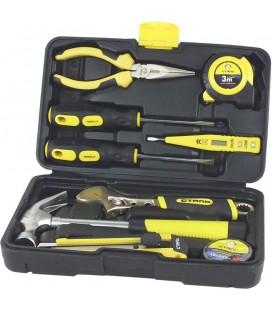 Набор инструментов 10 единиц СТАЛЬ 40015