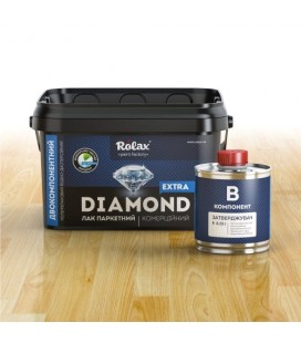 Лак паркетный коммерческий 2-х компонентный полиуретановый водоразбавимый «Diamond Extra»