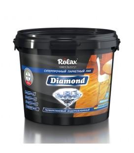 Лак паркетный полиуретановый водоразбавимый «Diamond» 1 л