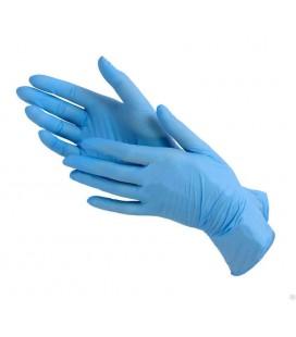 Эластичные и прочные медицинские одноразовые перчатки Размер S. Цвет Белый