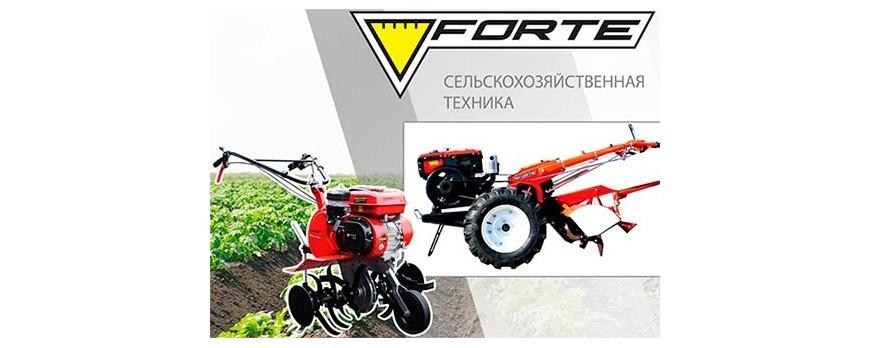 Новинка - мотоблоки Forte серии PLUS
